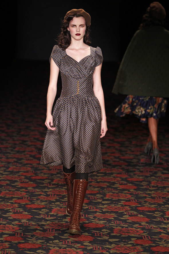 Berlin Fashion Week A/W 2012: Lena Hoschek. Изображение № 33.