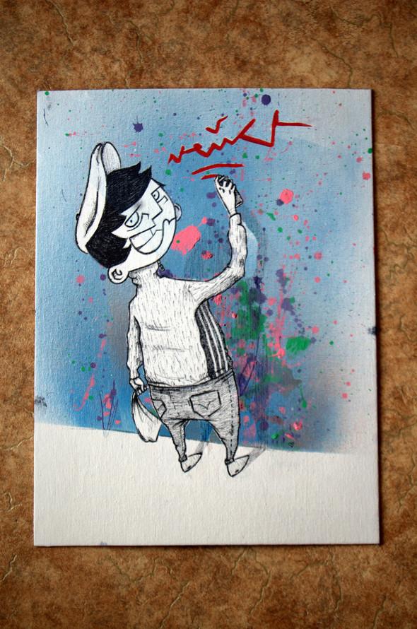 Граффитчик Илья Кейс на ART Vegas. Изображение № 9.