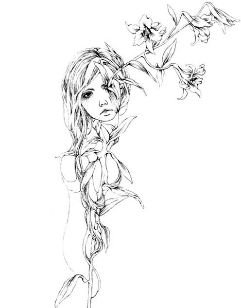 Katsuta Mako – черно-белая грация. Изображение № 42.