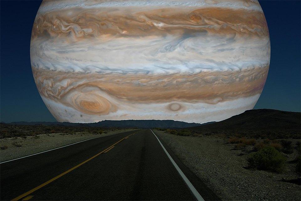 Что будет, если заменить Луну планетами Солнечной системы. Изображение № 7.