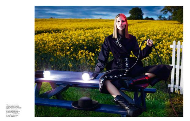 Новые съемки Dazed & Confused, Vogue, i-D и W Magazine. Изображение № 17.