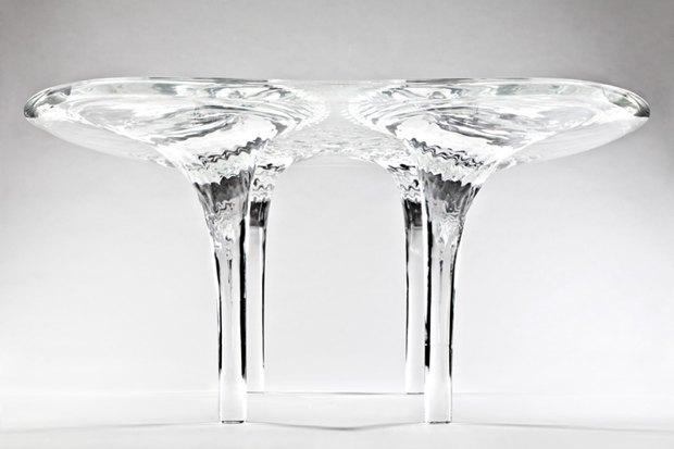 Заха Хадид создала новые предметы мебели для серии Liquid Glacial. Изображение № 13.