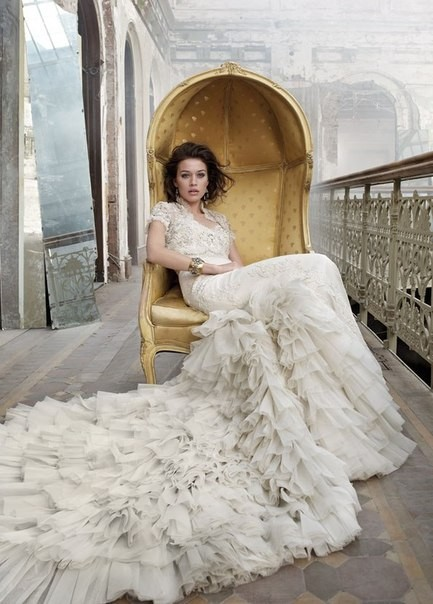 Lazaro Bridal Collection 2012. Изображение № 6.