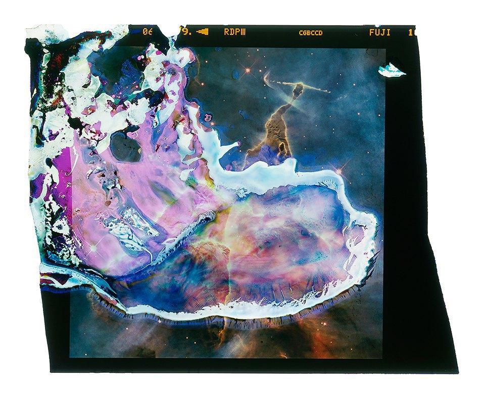 Космические пейзажи, созданные бактериями . Изображение № 18.