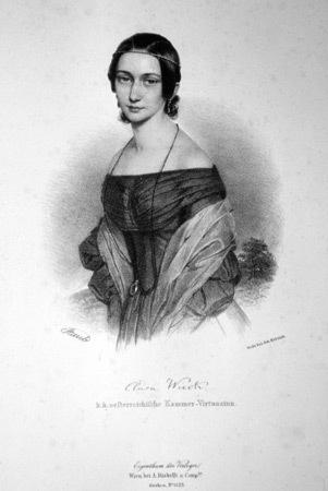 Портрет Клары Жозефин Вик Шуман. Изображение № 15.