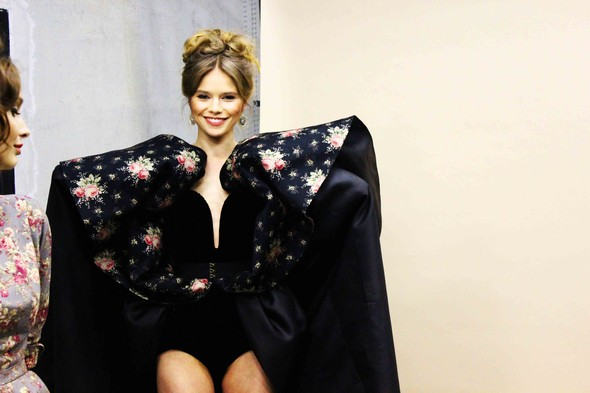 Ulyana Sergeenko SS 2012. Backstage. Изображение № 14.