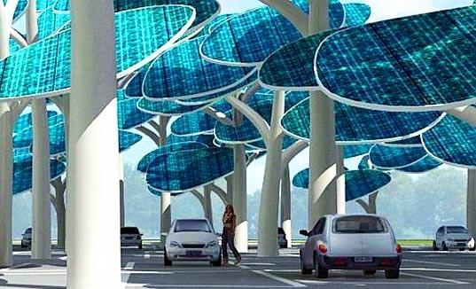 Урбанистические леса насолнечных батареях. Изображение № 1.