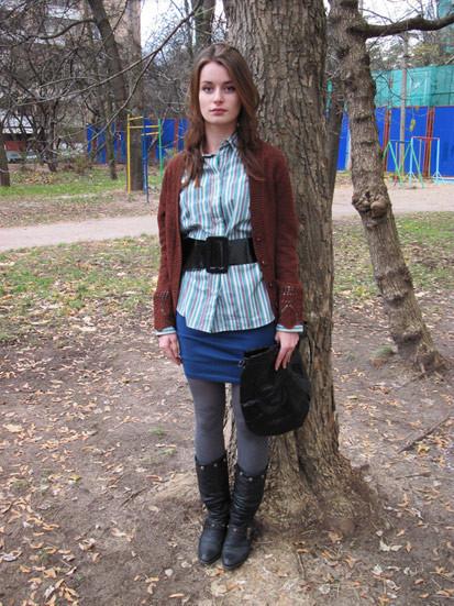 Одеваемся всеконд-хенде за1000 рублей. Изображение № 9.
