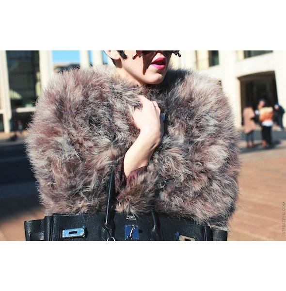 Изображение 110. На полях: 10 тенденций уличного стиля с прошедших недель моды.. Изображение № 110.