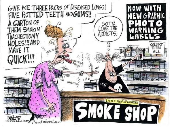 Минздрав рисует: художники об устрашающих картинках на пачках сигарет. Изображение № 5.