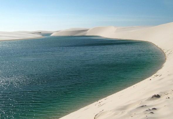 Белые пески Lencois Maranhenses. Изображение № 3.