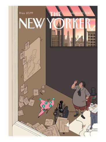 10 иллюстраторов журнала New Yorker. Изображение №60.
