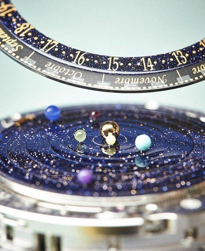 Часы Planetarium показывают движение Солнечной системы. Изображение № 3.