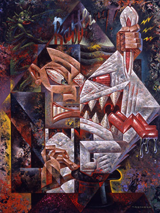 Эйсид-поп сюрреализм Тодда Шорра. Изображение № 37.