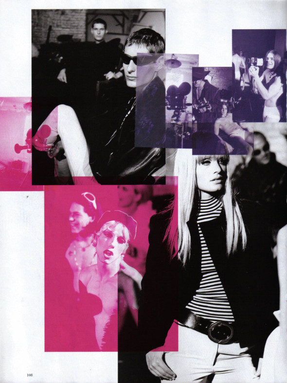Архивная съёмка: Питер Линдберг для Harper's Bazaar, 1995. Изображение № 4.