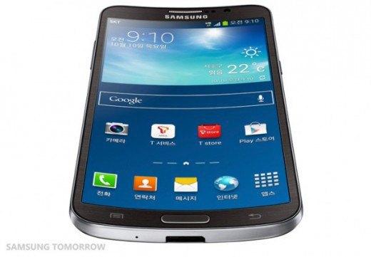 Samsung анонсировала смартфон с изогнутым дисплеем. Изображение № 1.