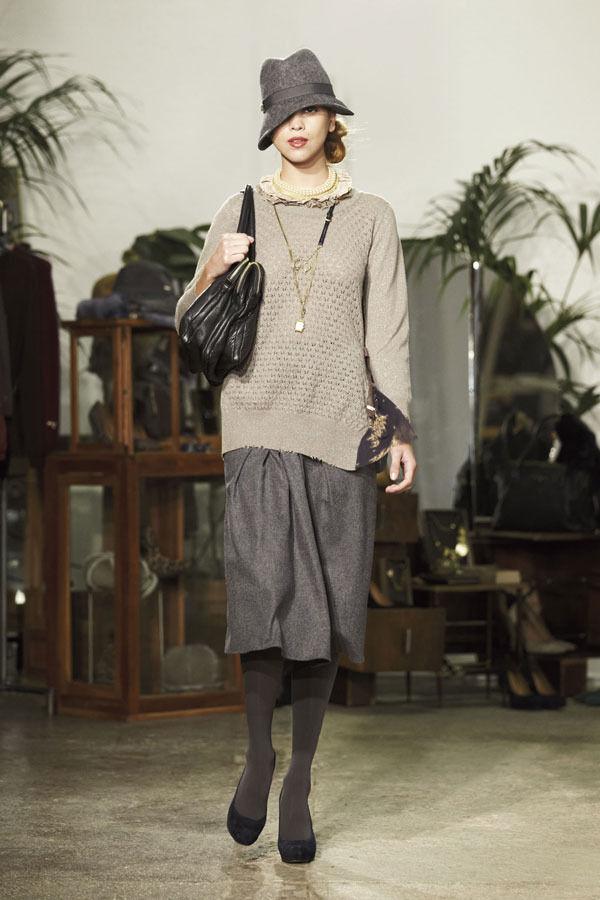 Ретро всегда в моде. Aniye By, осень-зима 2012/13. Изображение № 14.