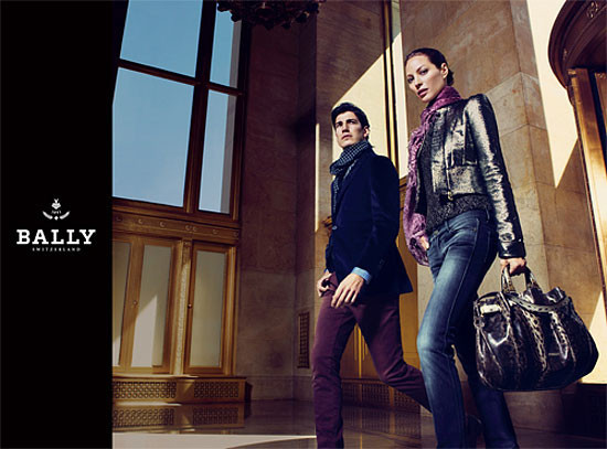 Turlington for YSL and Bally. Изображение № 19.
