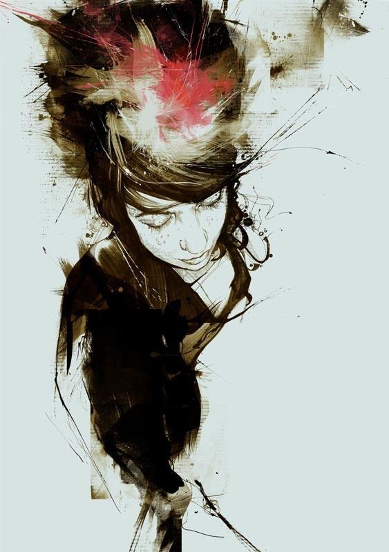 Russ Mills : графика, фотография и живопись. Изображение № 8.