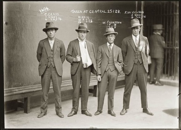 Фотографии американских гангстеров начала 20 века. Изображение № 24.