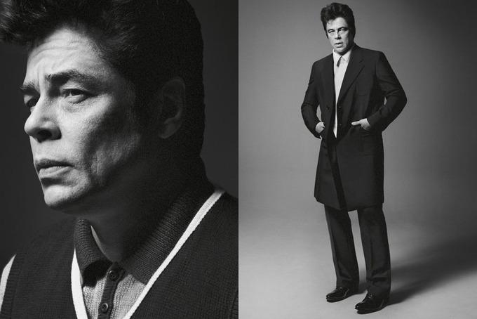 Бенисио Дель Торо и Аарон Джонсон снялись для кампании Prada. Изображение № 4.