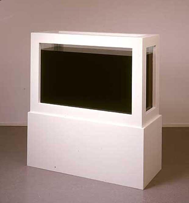 Работа Painting Modernism Black, в которой инцидент между Херстом и Бриджером ориотрефлексировал третий художник, Феликс Гмелин. Изображение №7.