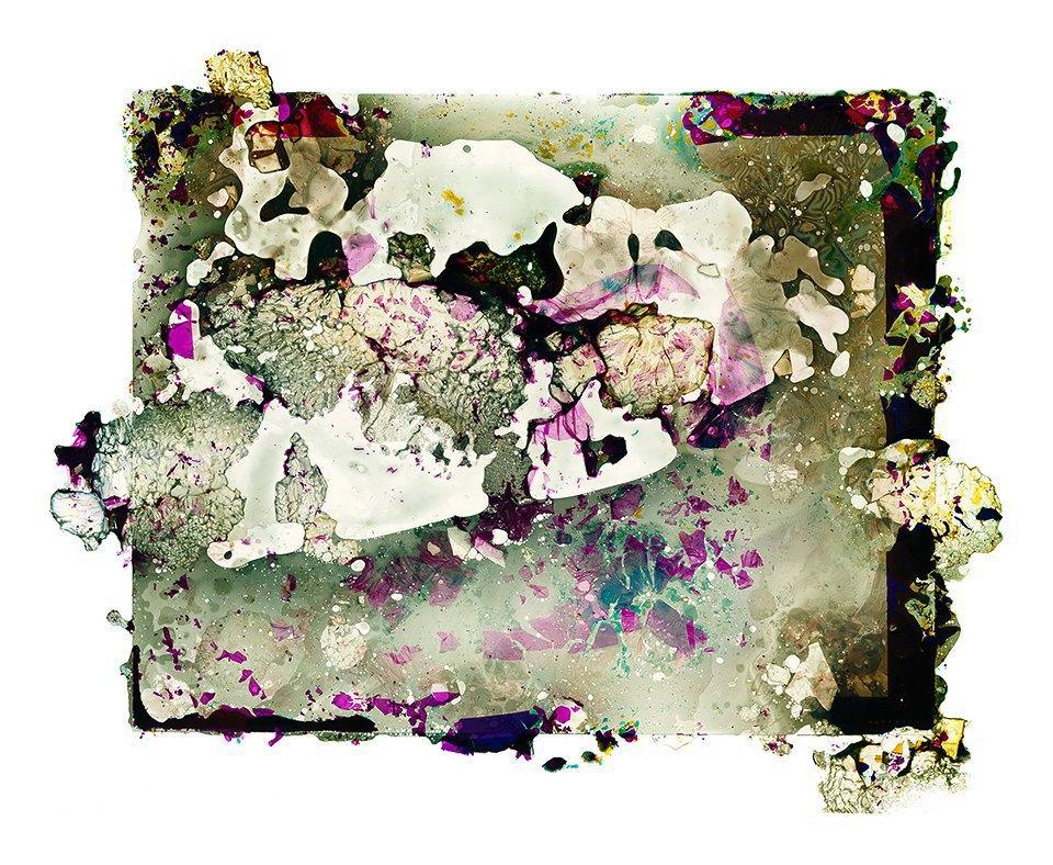 Космические пейзажи, созданные бактериями . Изображение № 8.