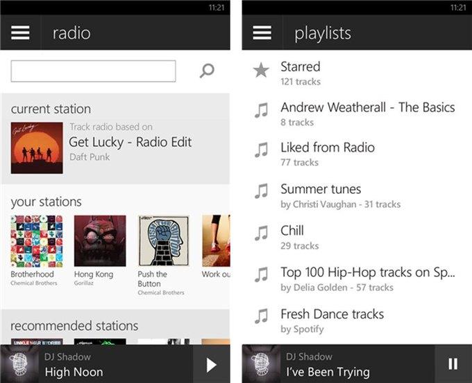 Приложение Spotify для Windows Phone получило первый редизайн с 2011 года . Изображение № 2.