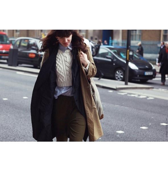 Изображение 35. На полях: 10 тенденций уличного стиля с прошедших недель моды.. Изображение № 35.