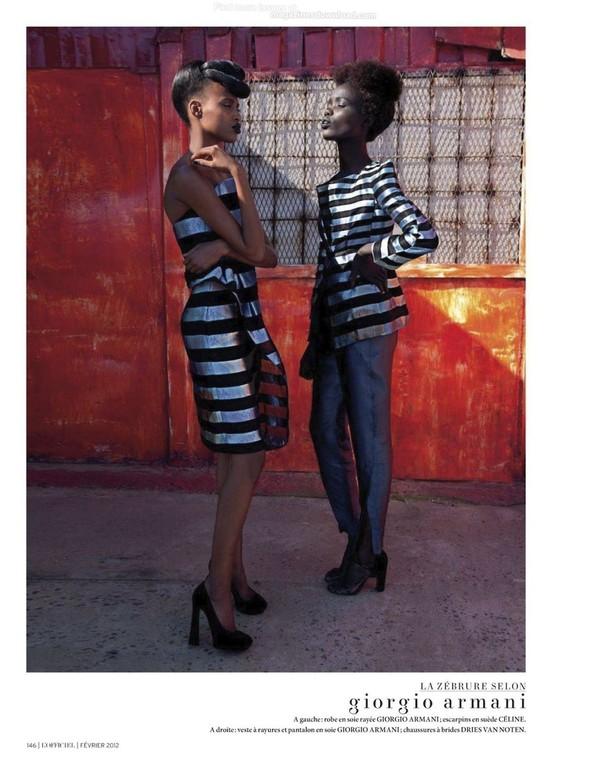 Съёмка: Шанель Иман для L'Officiel. Изображение № 4.