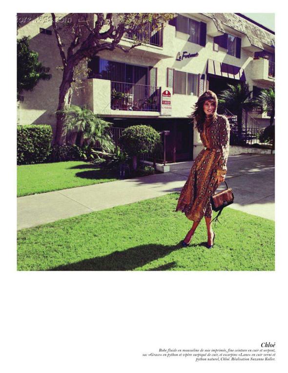 Съёмка: Аризона Мьюз, Лара Стоун, Наташа Поли и другие модели во французском Vogue. Изображение № 59.