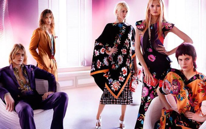 Alexander McQueen, Celine и LUBLU Kira Plastinina показали новые кампании. Изображение № 7.