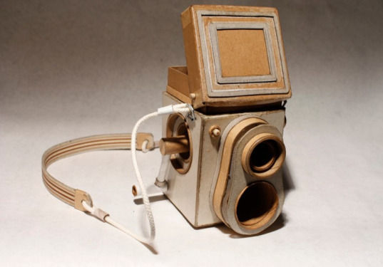 Картонные фотокамеры Киля Джонсона. Изображение № 9.