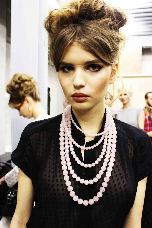 Ulyana Sergeenko SS 2012. Backstage. Изображение № 17.