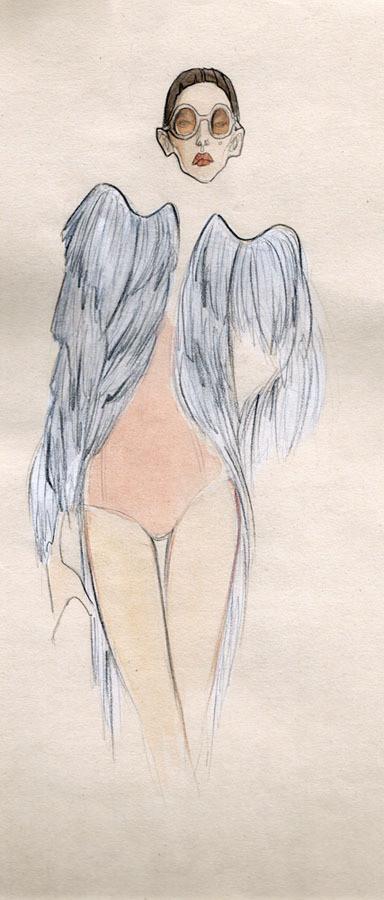 Изображение 9. Fashion-иллюстрационация от Anne Sofie Madsen.. Изображение № 9.