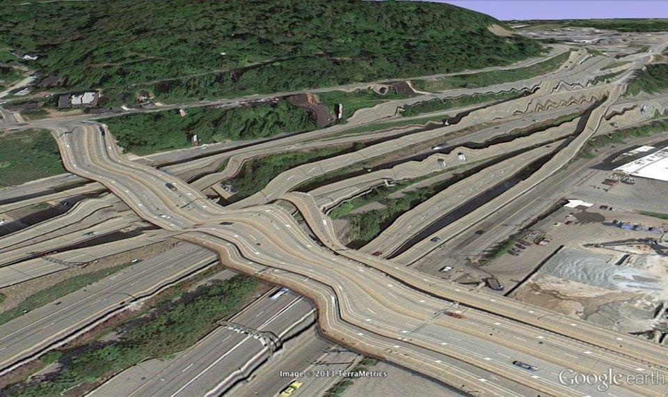32 фотографии из Google Earth, противоречащие здравому смыслу. Изображение № 19.