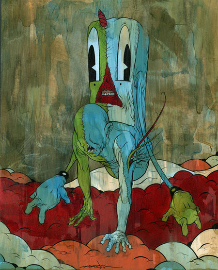 "Alex Pardee ""If i am not creating, i will die. "". Изображение № 4."
