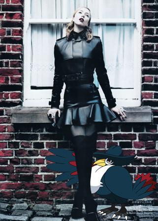 Фэшн-иллюстрация: Мода и покемоны. Изображение № 3.