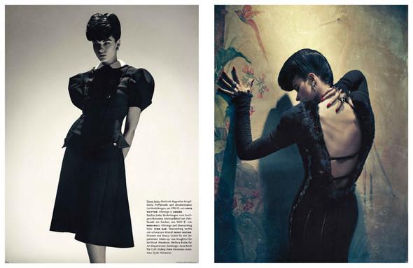 Съёмка: Кристал Ренн для немецкого Vogue. Изображение № 10.