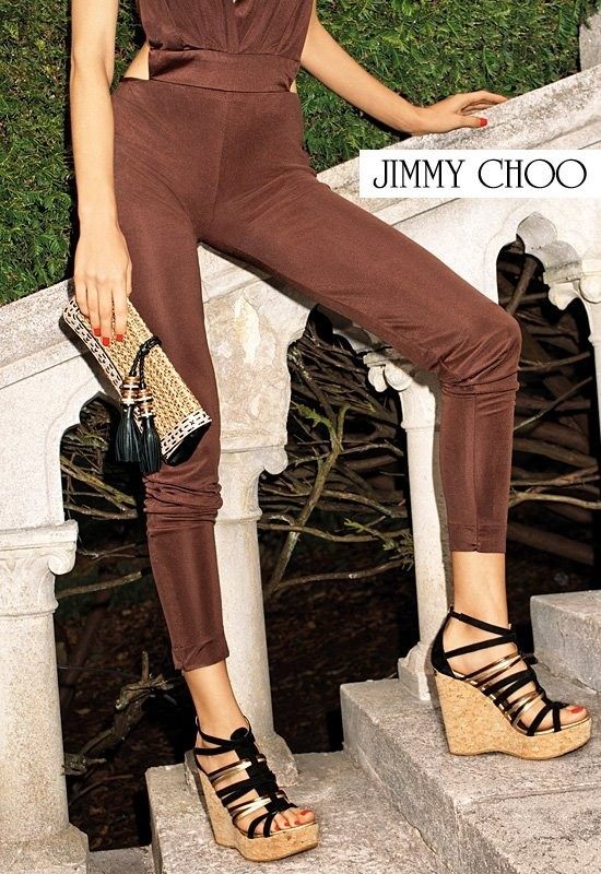 Кампания: Терри Ричардсон для Jimmy Choo SS 2012. Изображение № 10.