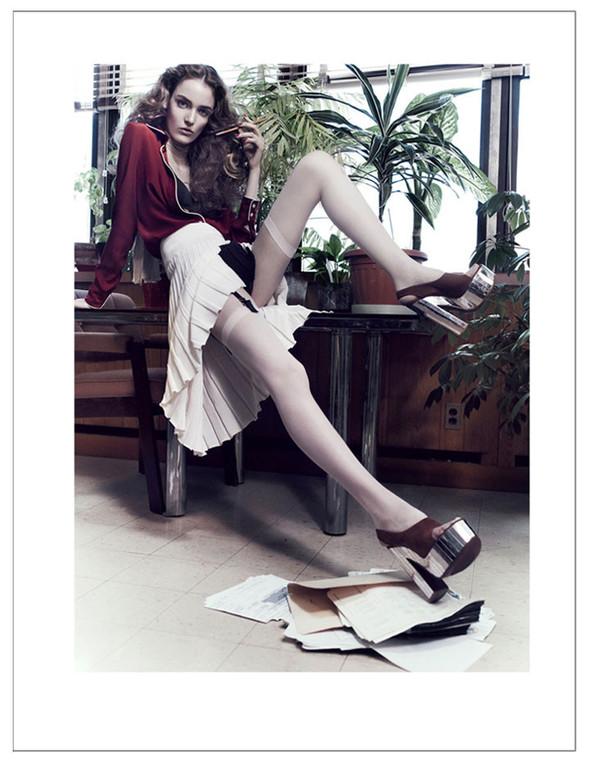 Новые съемки: Vogue, 25 Magazine, Exit. Изображение № 62.