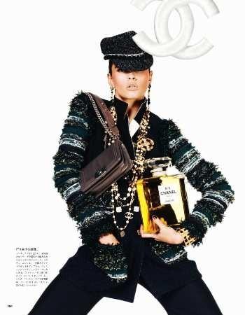 Съёмка: Кристал Ренн для Vogue. Изображение № 6.