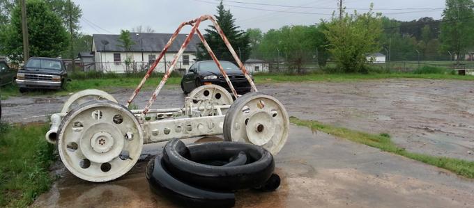 Прототип лунохода NASA нашли на свалке . Изображение № 1.