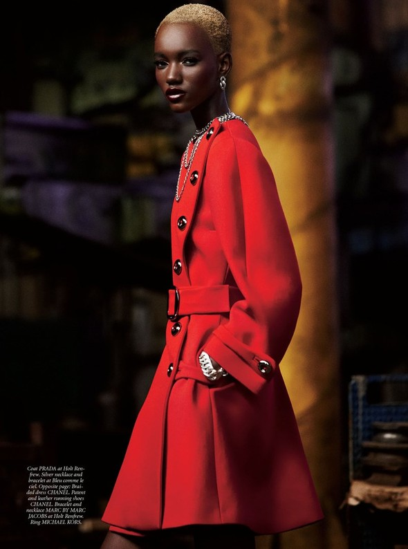 Съёмка: Herieth Paul 4 Dress to Kill Winter 2011 by Max Abadian. Изображение № 5.