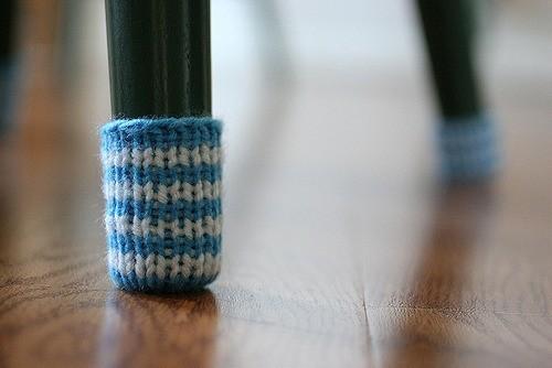 Защитные носки на стулья. Изображение № 1.