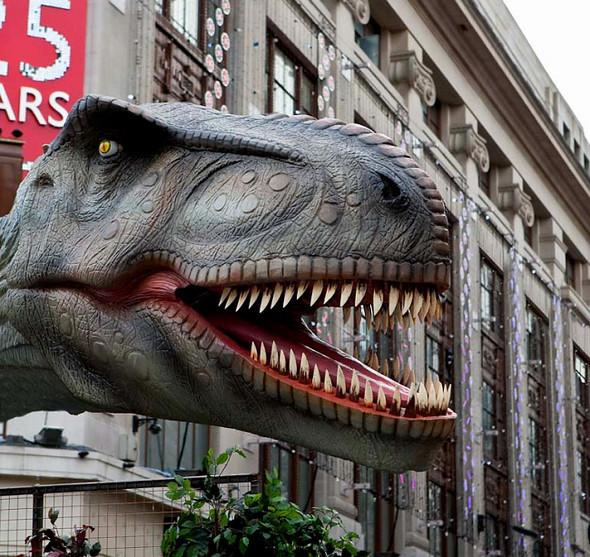 """""""Dinosaurs unleashed"""" или динозавры в Лондоне. Изображение № 2."""