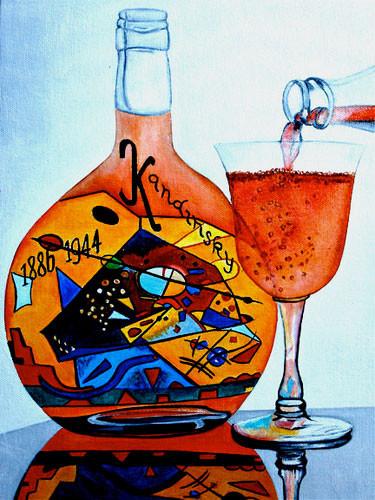 K. Madison Moore - знает толк в вине и живописи ХХ века. Изображение № 4.
