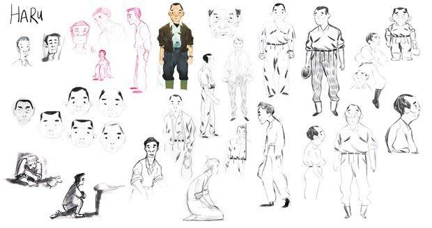 Анимация дня: японец, морской дух и груз прошлого. Изображение № 22.