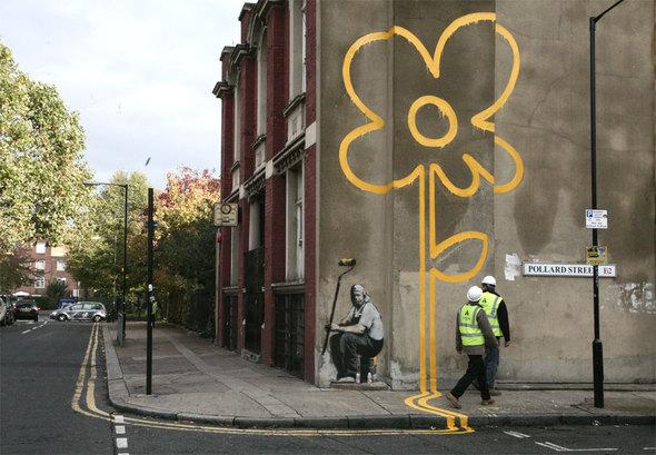 Изображение 15. Banksy (уличная мышь – герой).. Изображение № 15.