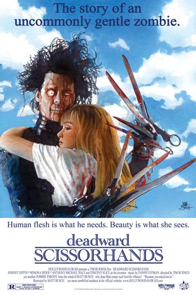 15 зомби-постеров известных фильмов. Изображение № 1.